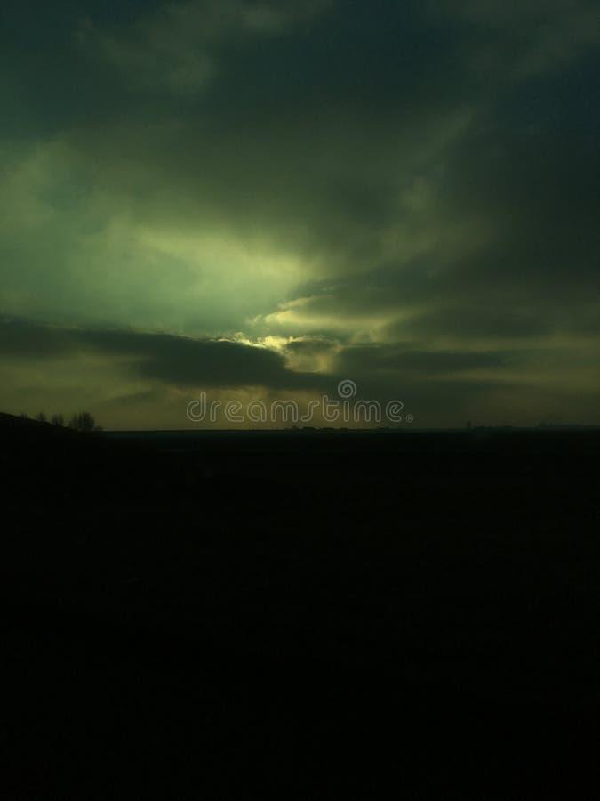 загадочное небо стоковое фото