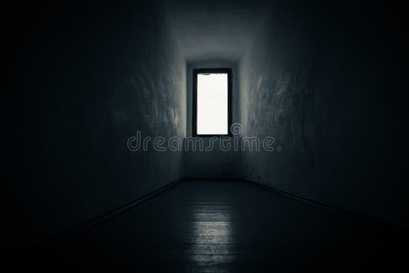Загадочное окно к нигде стоковая фотография
