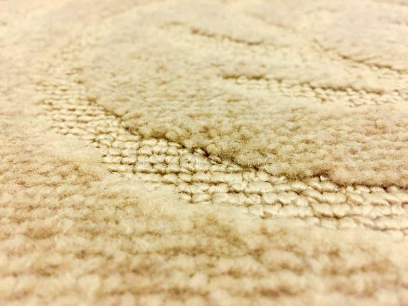 Загибы в сделанном по образцу ковре стоковая фотография rf