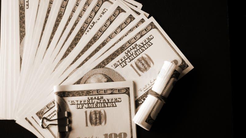 Загиб, много деньги 2 стоковые изображения