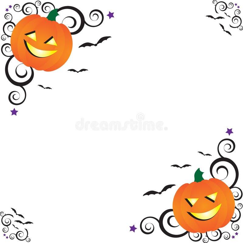загоняет halloween в угол бесплатная иллюстрация