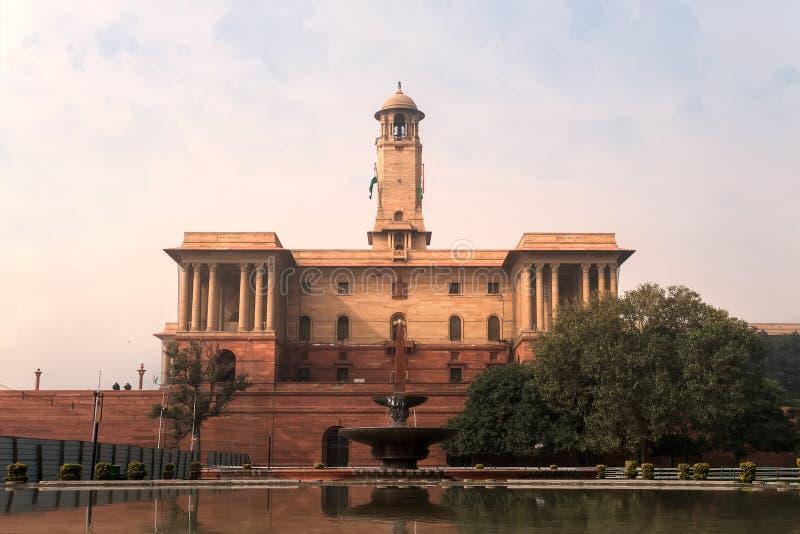Загоренные президенты Дом в Индии стоковая фотография rf