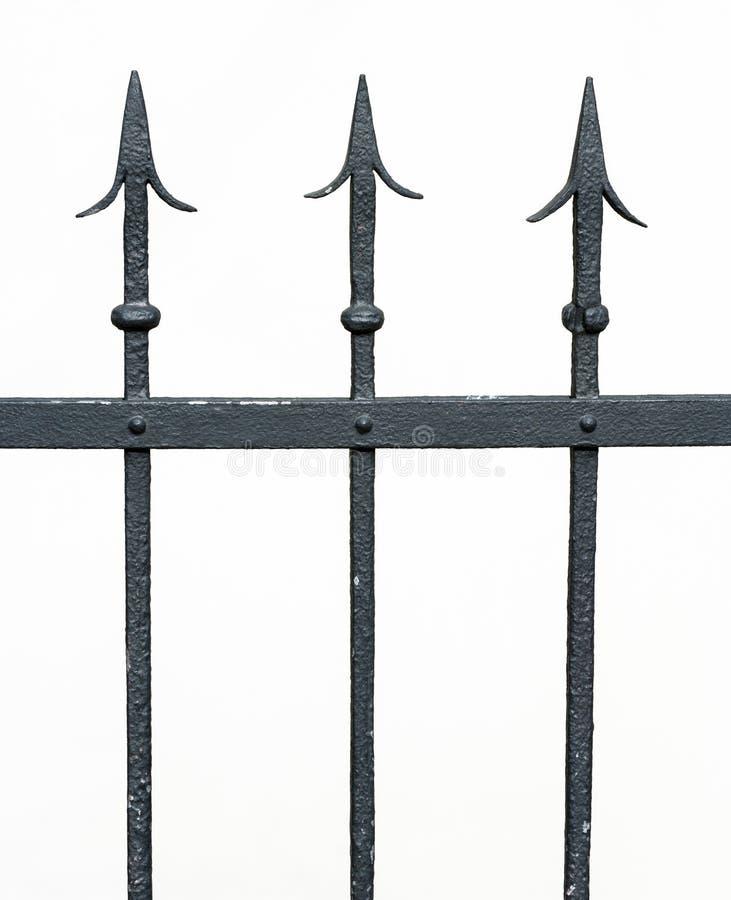 Загородка - конец-вверх стоковые изображения