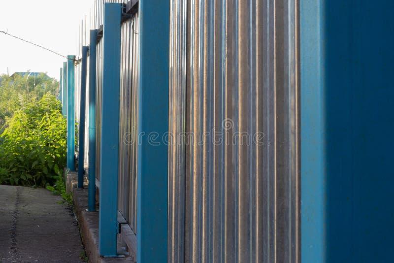 загородка металла стоковое изображение rf