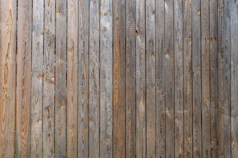 Загородка старого unpainted крупного плана предпосылки доск стоковое фото rf