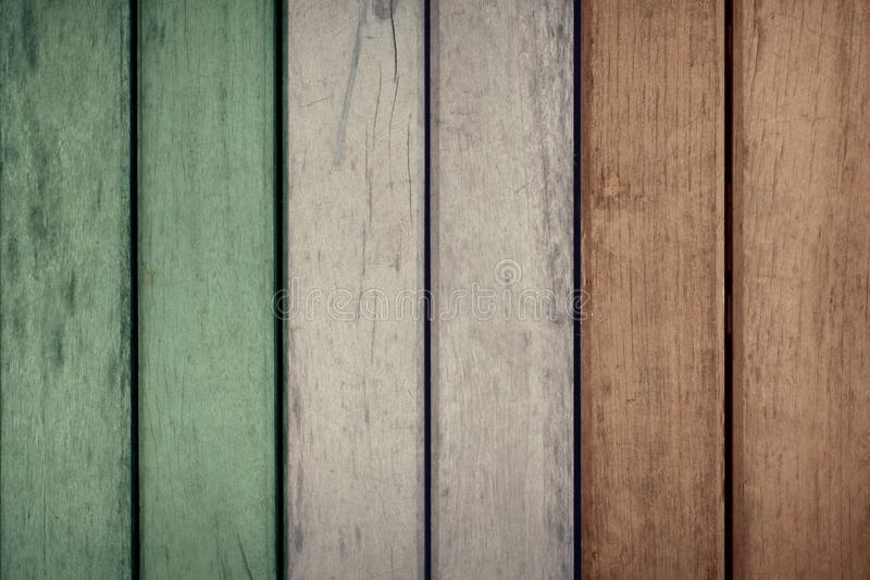 Загородка флага Ирландии деревянная стоковое фото