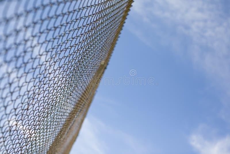загородка chainlink стоковые фото