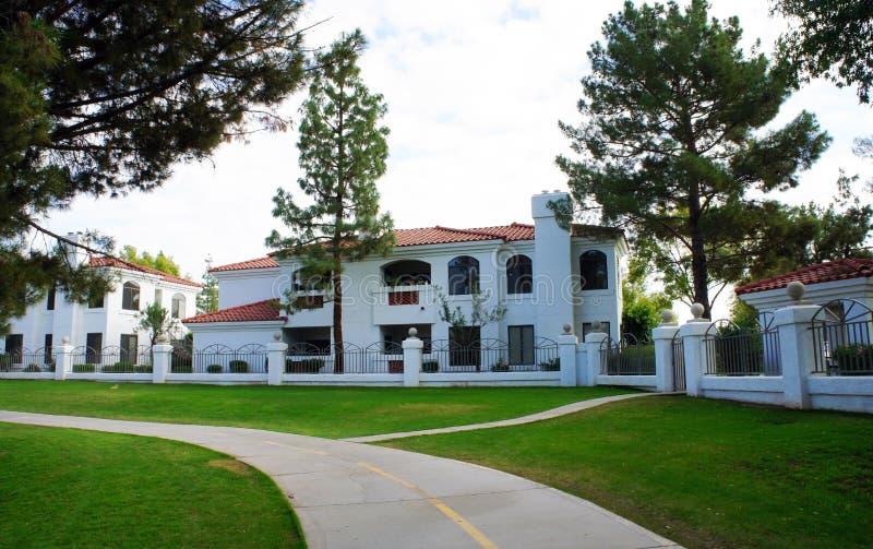 Загородный дом в Scottsdale, Аризоне стоковые изображения rf