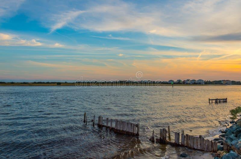 Загородка воды стоковая фотография rf