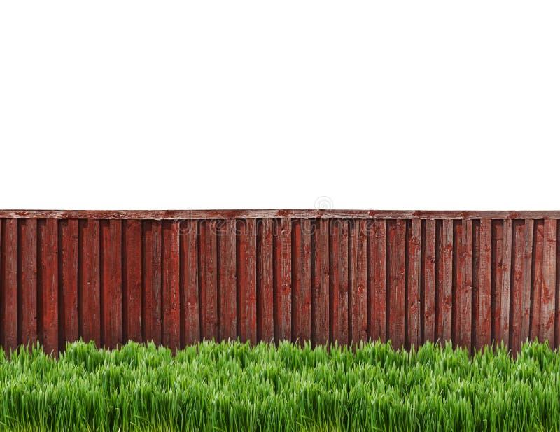 Загородка от деревянных доск закрывает вверх стоковое изображение rf