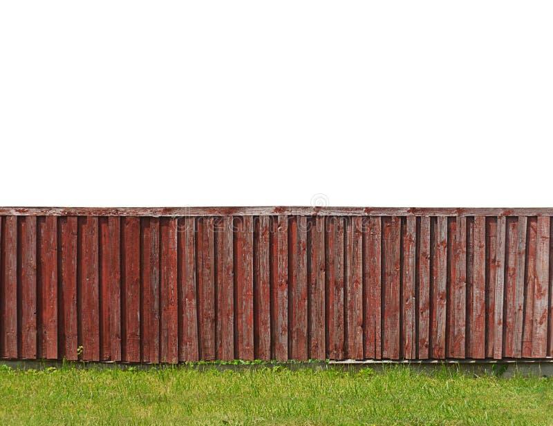 Загородка от деревянных доск закрывает вверх стоковые изображения rf