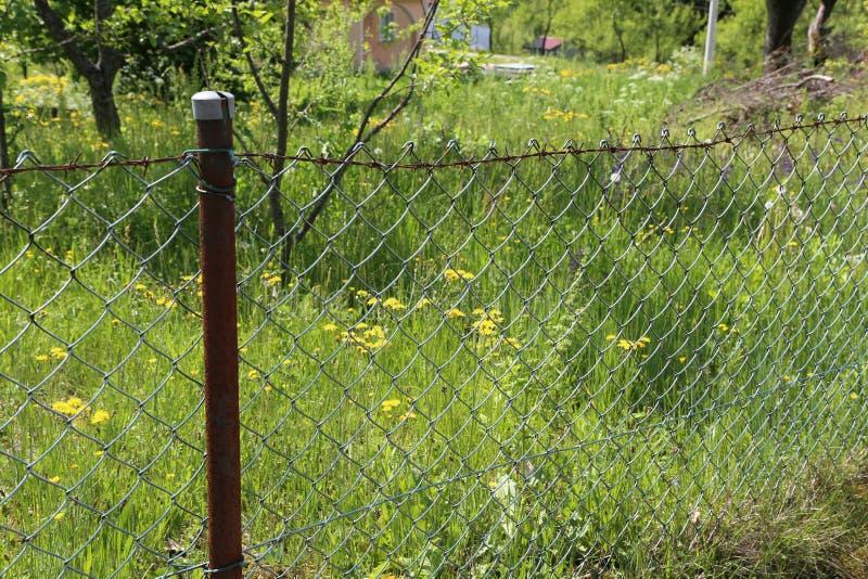 Загородка решетины стоковое фото