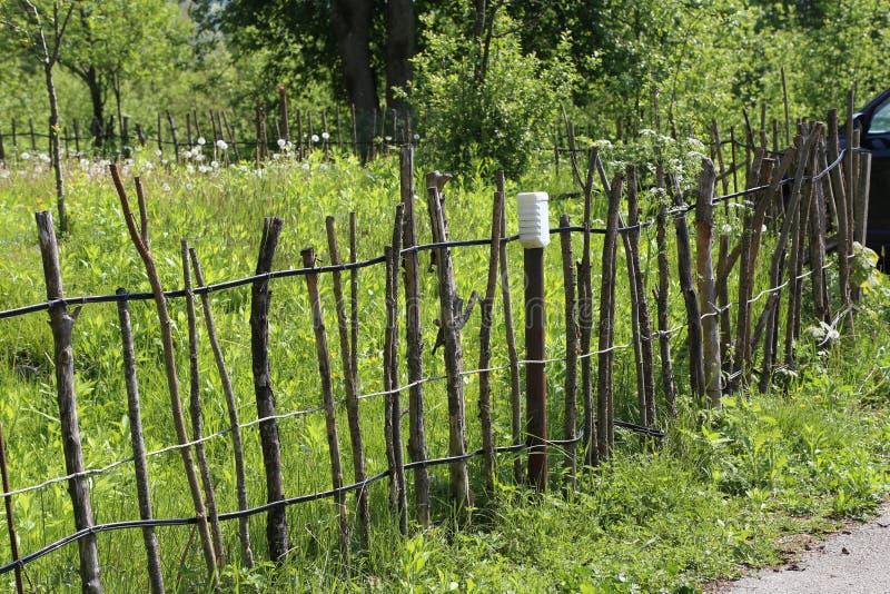 Загородка решетины стоковое фото rf