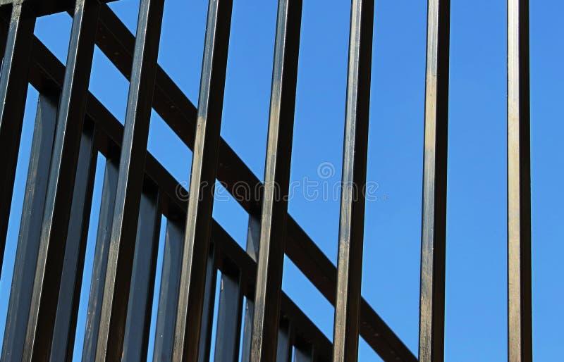 Загородка Bluesky стоковое изображение rf