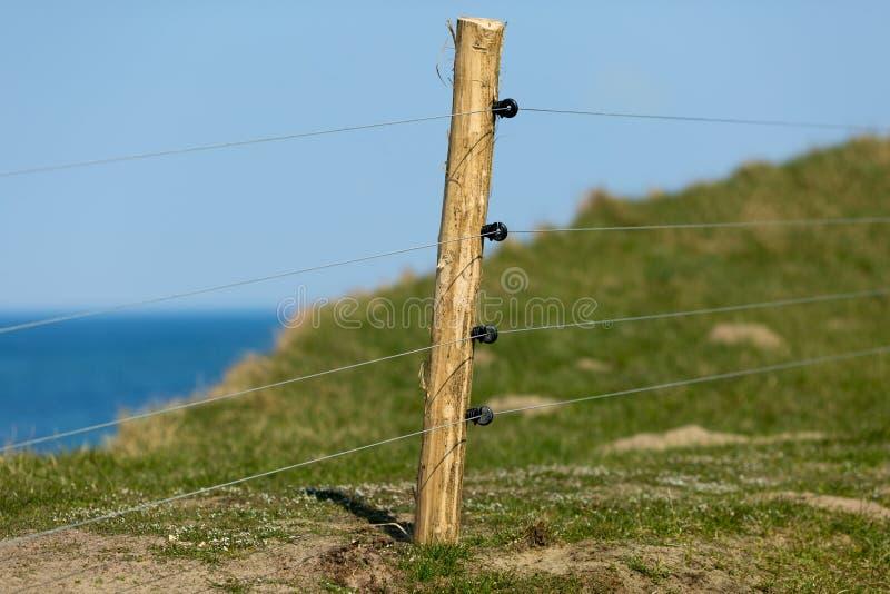 Загородка Eletric стоковое фото