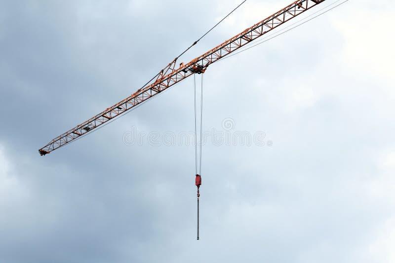 Заграждение башни крана стоковая фотография