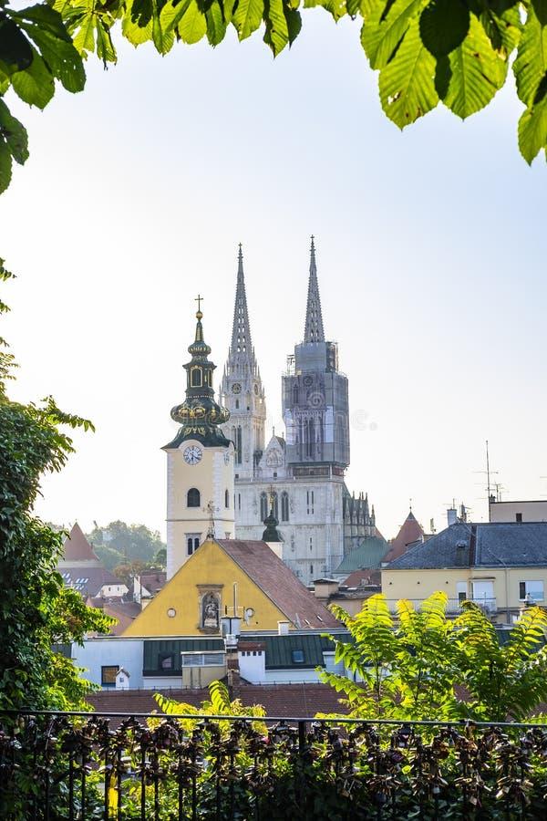 Загреб, Хорватия стоковые изображения rf