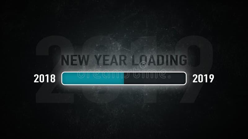 Загрузка 2019 экрана бесплатная иллюстрация