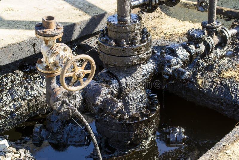 Загрязнение нефтью стоковая фотография rf