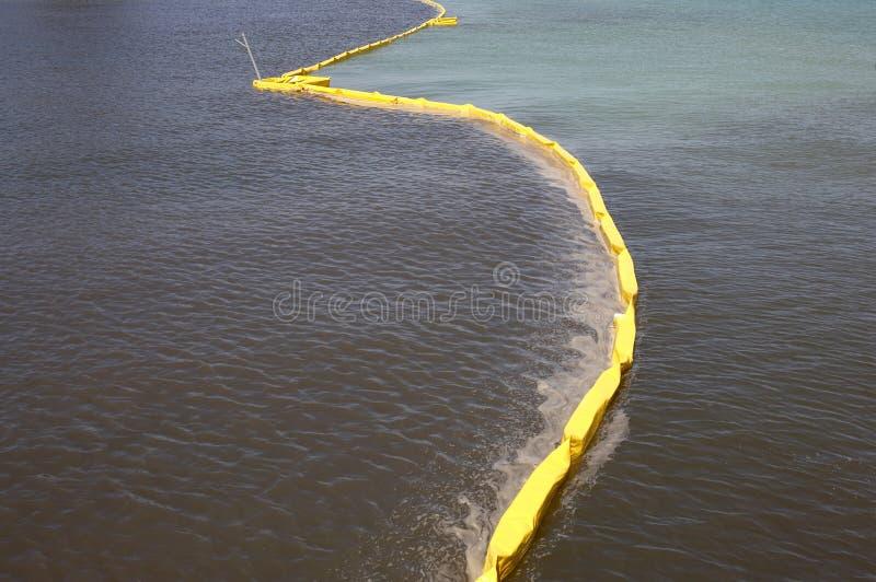 загрязнение управлением барьера стоковое изображение
