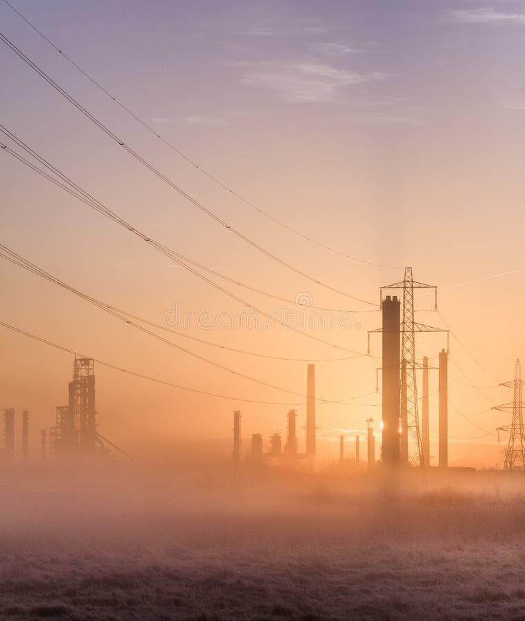 Загрязнение 3 утра стоковое фото rf