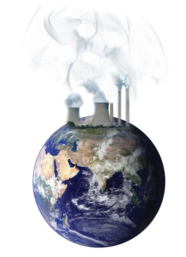 загрязнение стоковое изображение