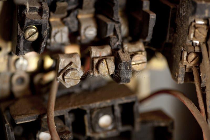загубленная старая взрывателя коробки стоковые изображения rf