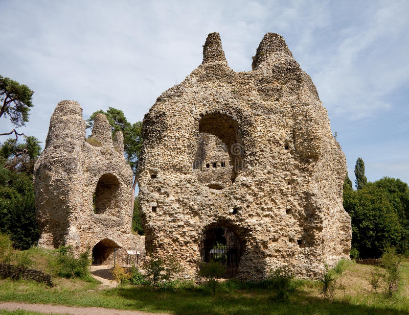 загубленное королевское замока стоковая фотография