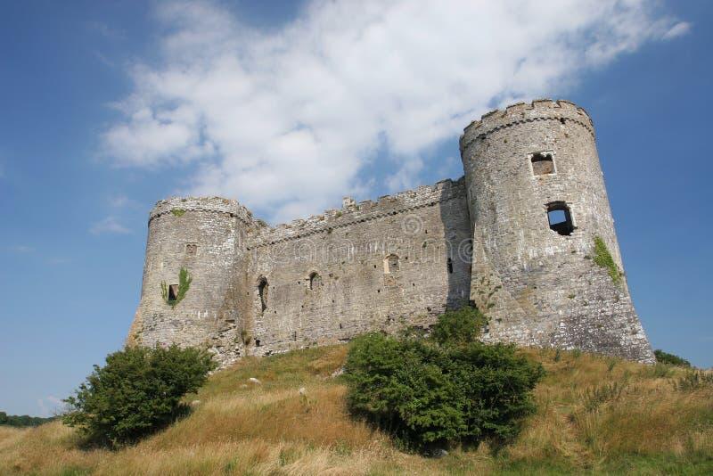 загубленный замок Стоковые Фото
