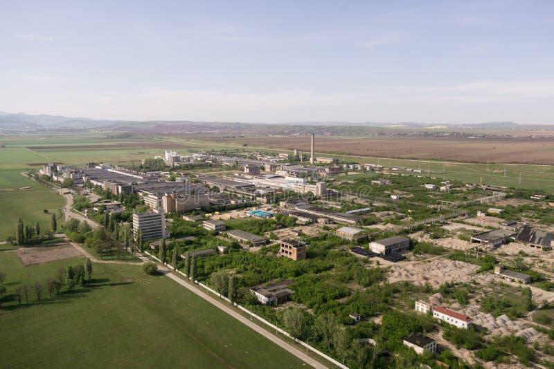 Загубленный химический завод стоковые изображения
