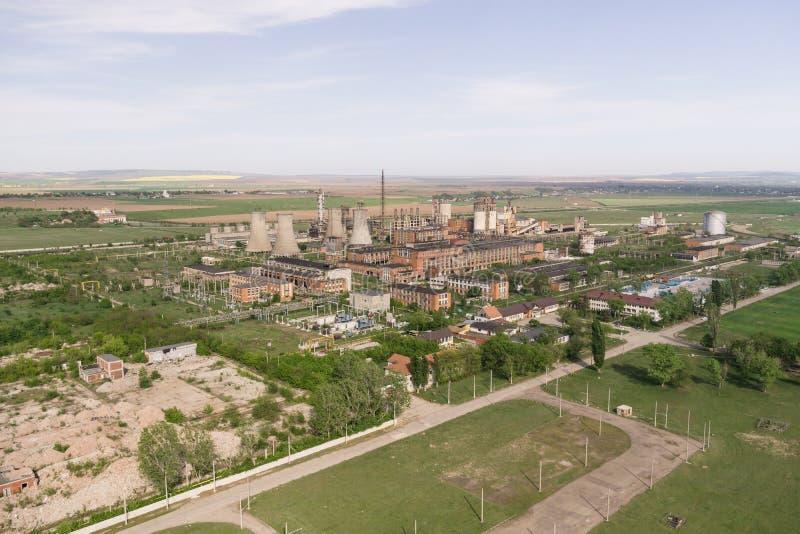 Загубленный химический завод стоковое фото rf