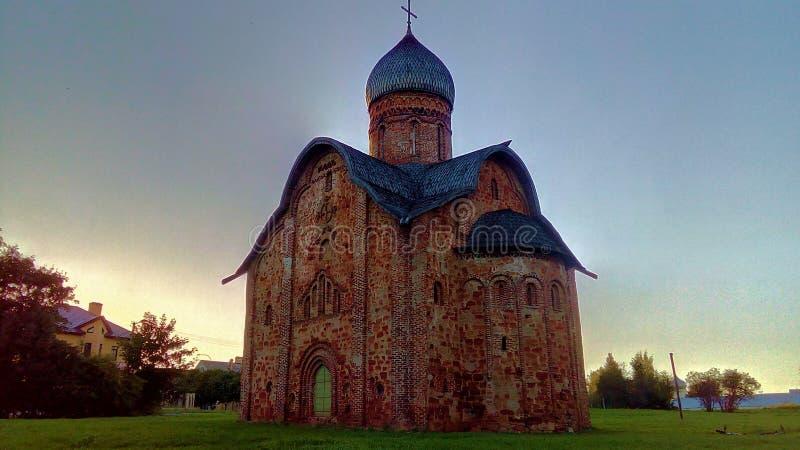 загубленная старая церков стоковая фотография