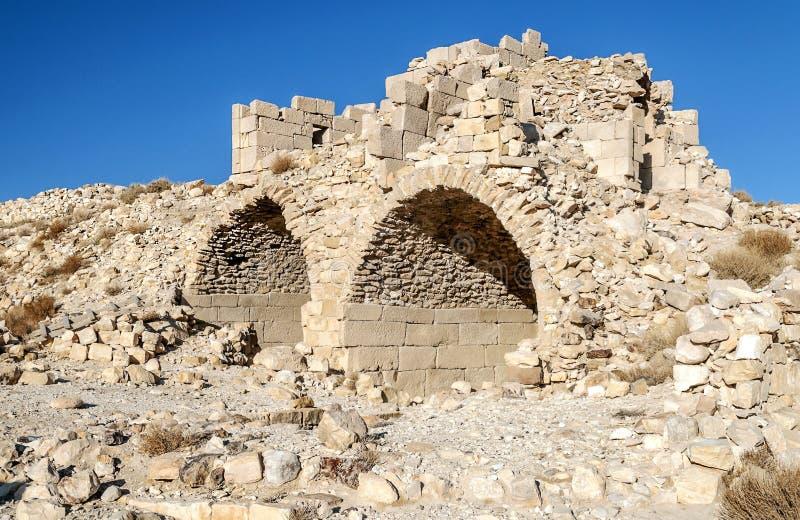 Загубленный замок Shobak стоковые изображения