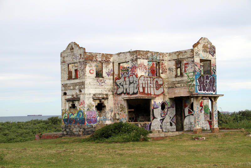 Загубленный ночной клуб в Ballito стоковые фото