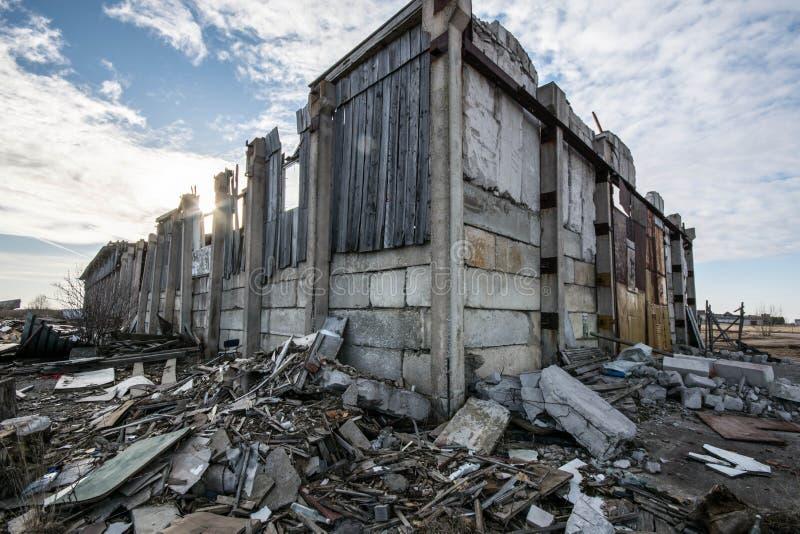 Загубленный дом амбара стоковое фото