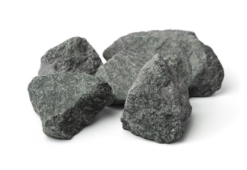 Задавленные камни гранита стоковая фотография rf