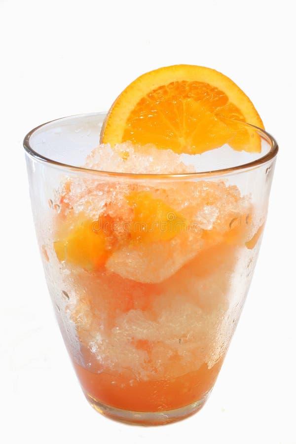 задавленный льдед питья стоковая фотография rf