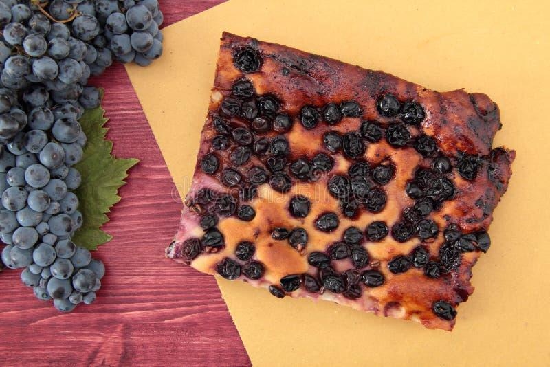 Задавлено с красными виноградинами стоковое фото rf
