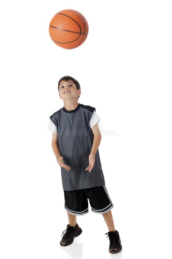 задвижка баскетбола стоковая фотография