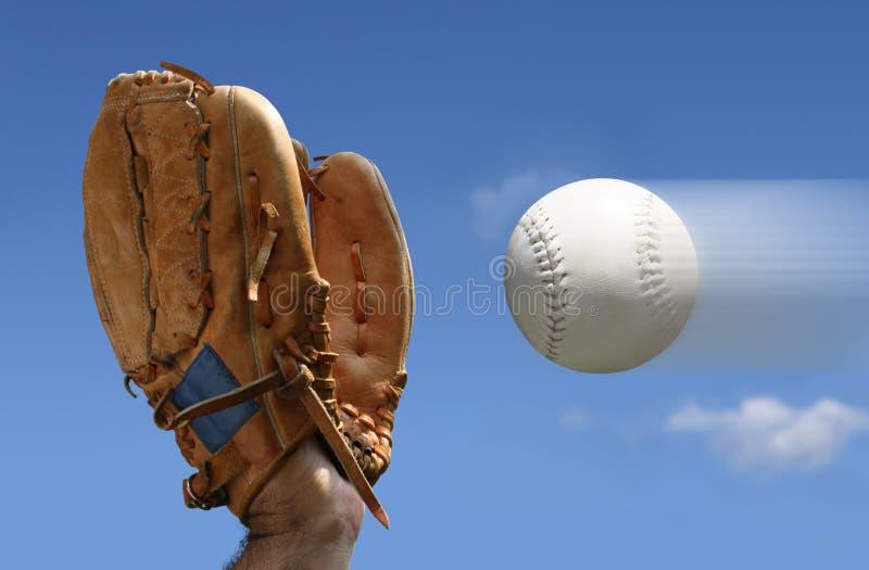 задвижка бейсбола стоковое изображение rf