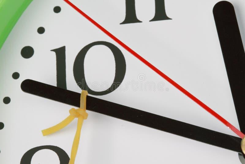 заднее вытягивая время стоковое изображение rf