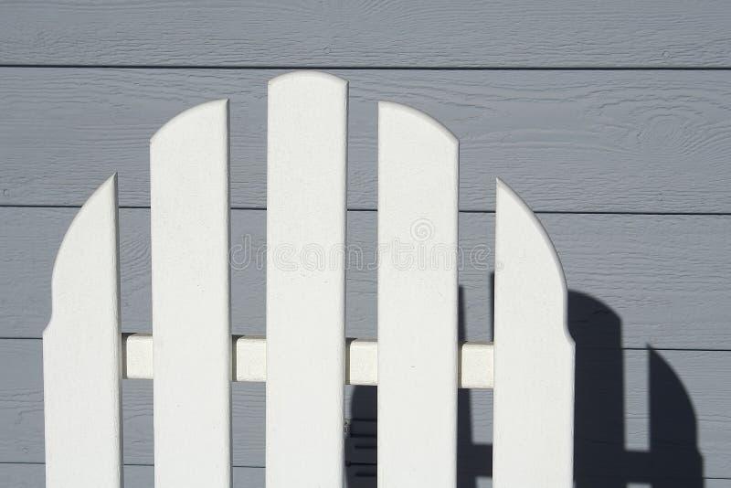 заднее крылечко стула стоковое фото rf