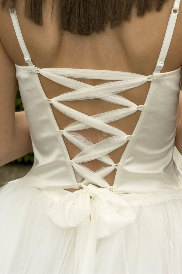 заднее платье стоковая фотография rf
