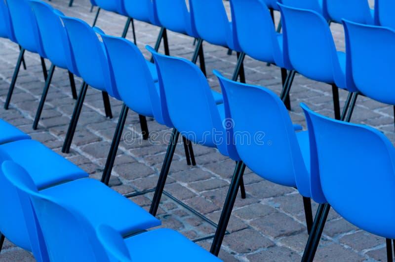 задние стулы стоковое фото rf