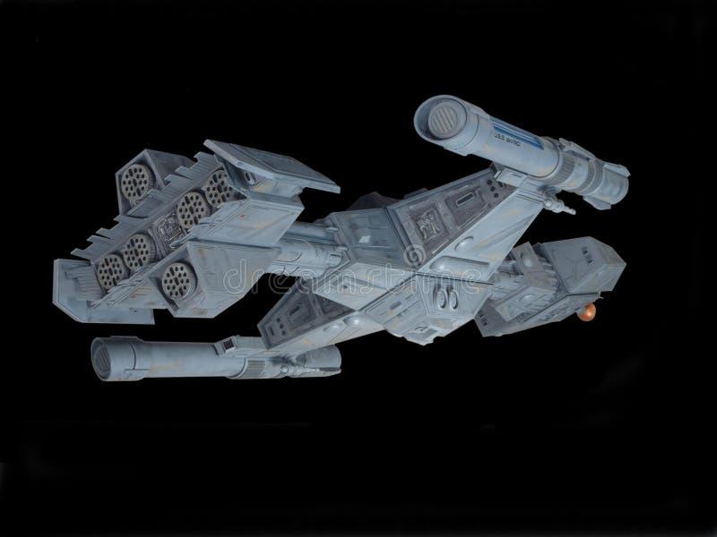 задний взгляд космического корабля стоковая фотография