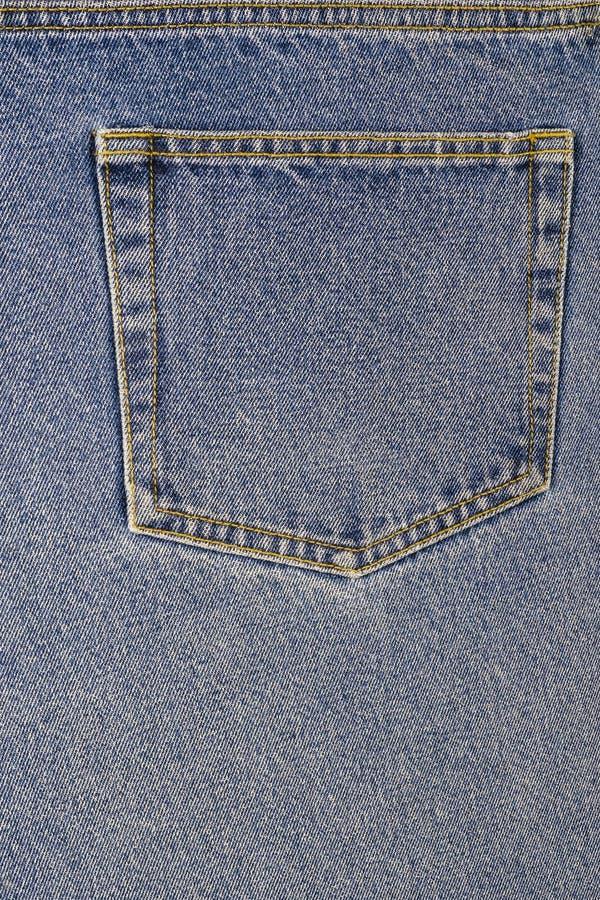 Задний карман пары джинсов стоковые изображения rf