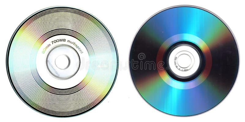 задний cd фронт стоковое изображение