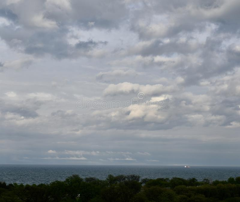 Задняя сторона шторма стоковое фото rf