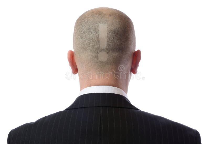 Задняя часть головки! стоковое изображение rf