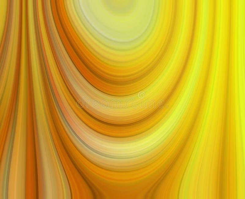 Задрапированные тени желтого конспекта стоковые фото
